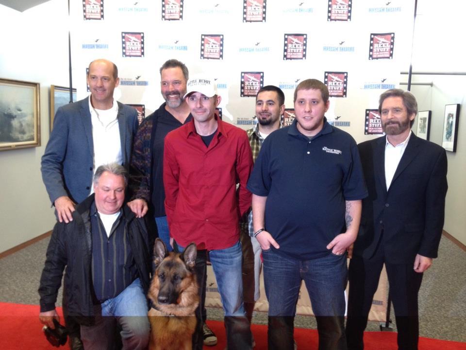 Battle buddy foundation attending a premiere