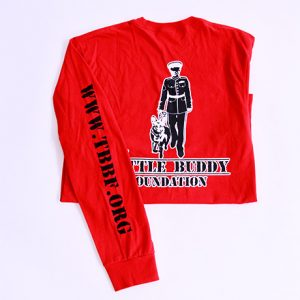 The Battle Buddy Foundation red Long Sleeve Shirt